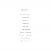 FIRST PORTFOLIO, Contents
