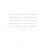 STREET POEMS, Chuck Palnaiuk quote