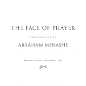 THE FACE OF PRAYER, Title Page