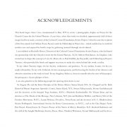THE FACE OF PRAYER, Acknowledgements