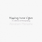 DIPPING INTO LIGHT; A Lifetime of Photography, cover