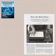 Scientific American - How the Blind Draw, p. 76