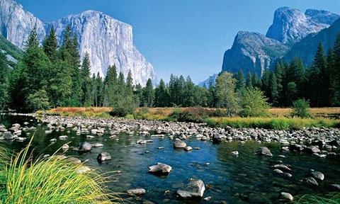 Yosemite valley, California, US